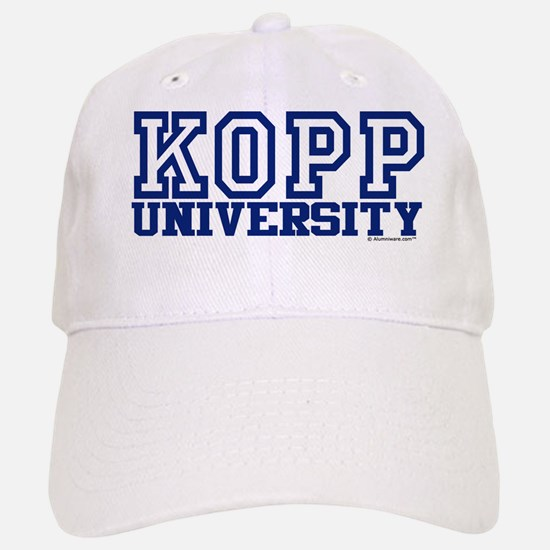 KOPP University Baseball Baseball Cap
