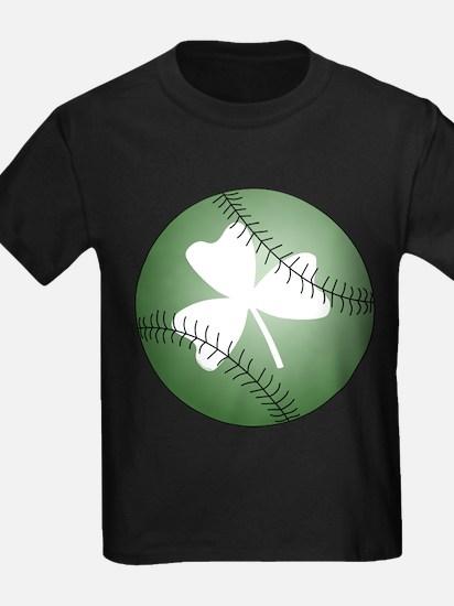 Baseball Shamrock T-Shirt