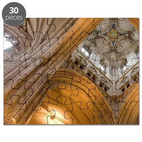 Built for Henry of Eastry. Fan vaulting sup Puzzle