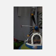 Soviet-era propeller driven speed Rectangle Magnet