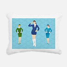 Toiletry Bag 1 Rectangular Canvas Pillow