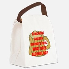 memory loss Canvas Lunch Bag