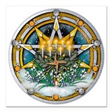Imbolc Square Car Magnets