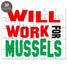 Will Work For Mussels Puzzle