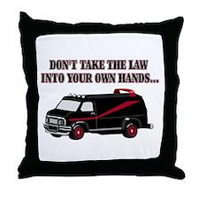 A-Team Van Throw Pillow
