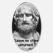 Euripides Stone Quote 2 Decal