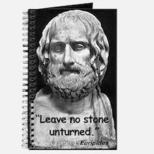 Euripides Stone Quote 2 Journal