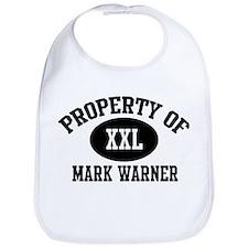 Property of Mark Warner Bib