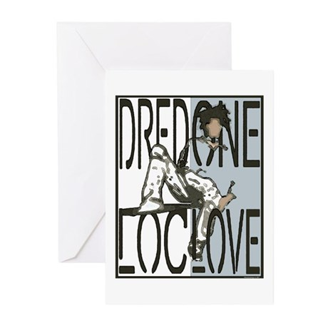 Dred One, Loc Love! Greeting Cards (Pk of 10)