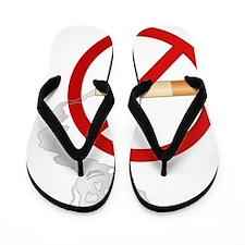 NoSmoking Flip Flops