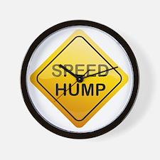 SpeedHump Wall Clock