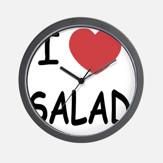 SALAD Wall Clock