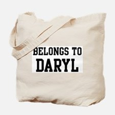 Belongs to Daryl Tote Bag