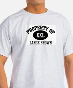 Property of Lance Brown T-Shirt