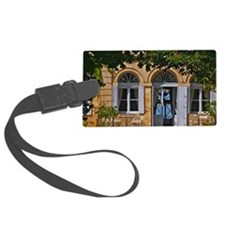 The chateau garden with metal ga Luggage Tag