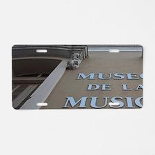 Museum of Puerto Rican Musi Aluminum License Plate