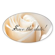 save the date rose Decal