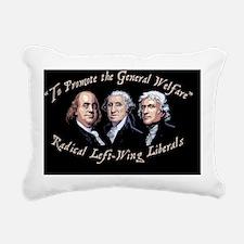 promote-welfare-OV Rectangular Canvas Pillow