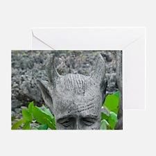 Hell: Devil Statue at Devil's Rocks  Greeting Card