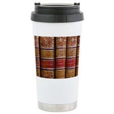 France, Corsica. Old books in A Travel Mug
