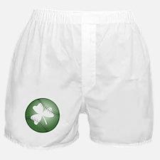 Baseball Shamrock Boxer Shorts