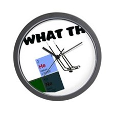 what the He Double Hocky sticks Wall Clock