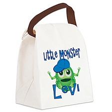 levi-b-monster Canvas Lunch Bag