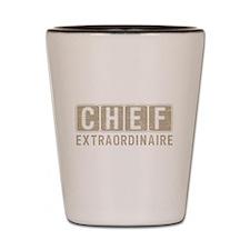 Chef Extraordinare Shot Glass