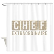 Chef Extraordinare Shower Curtain