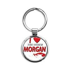 TheOtherMorgan Round Keychain