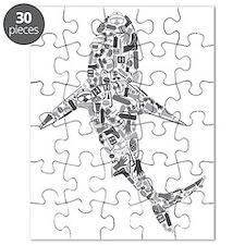 Scuba Shark Puzzle