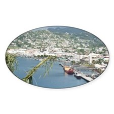 Kingstown Harbor, St. Vincent and t Decal