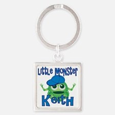 keith-b-monster Square Keychain