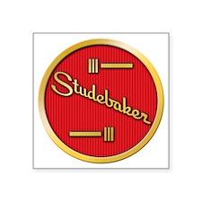 "studebaker-horn-emblem Square Sticker 3"" x 3"""
