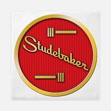 studebaker-horn-emblem Queen Duvet