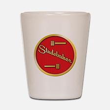 studebaker-horn-emblem Shot Glass