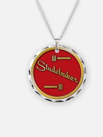studebaker-horn-emblem Necklace