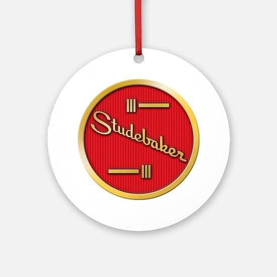 studebaker-horn-emblem Round Ornament