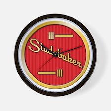 studebaker-horn-emblem Wall Clock