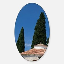 Bar. Mosque on the way to Stari (Ol Sticker (Oval)