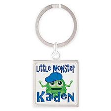 kaiden-b-monster Square Keychain