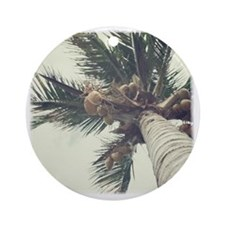 palmcoco-1 Round Ornament