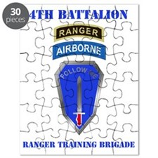 DUI-4TH BN RANGER TNG  BDE WITH TEXT Puzzle