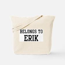 Belongs to Erik Tote Bag