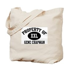 Property of Gene Chapman Tote Bag