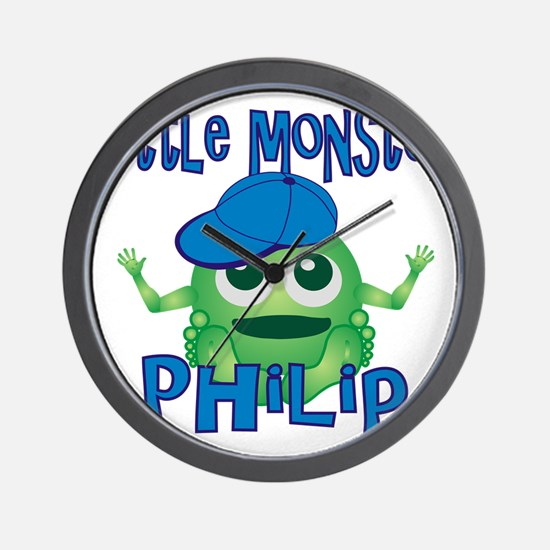 philip-b-monster Wall Clock