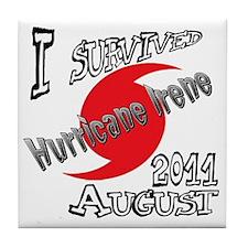 Irene survivor Tile Coaster