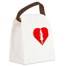 I-love-My-Teacher-darks Canvas Lunch Bag