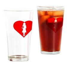 I-love-My-Teacher-darks Drinking Glass