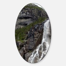 Lysefjord (aka Lyse Fjord). Hanging Sticker (Oval)